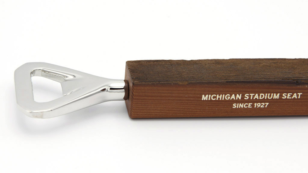 Michigan Stadium Bottle Opener