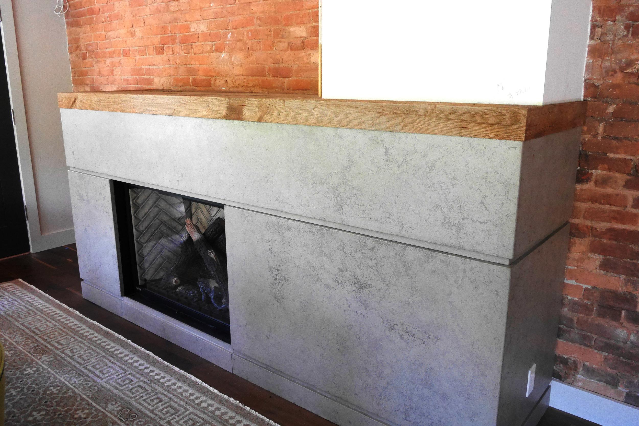 Handpressed Concrete Fireplace 2.jpg