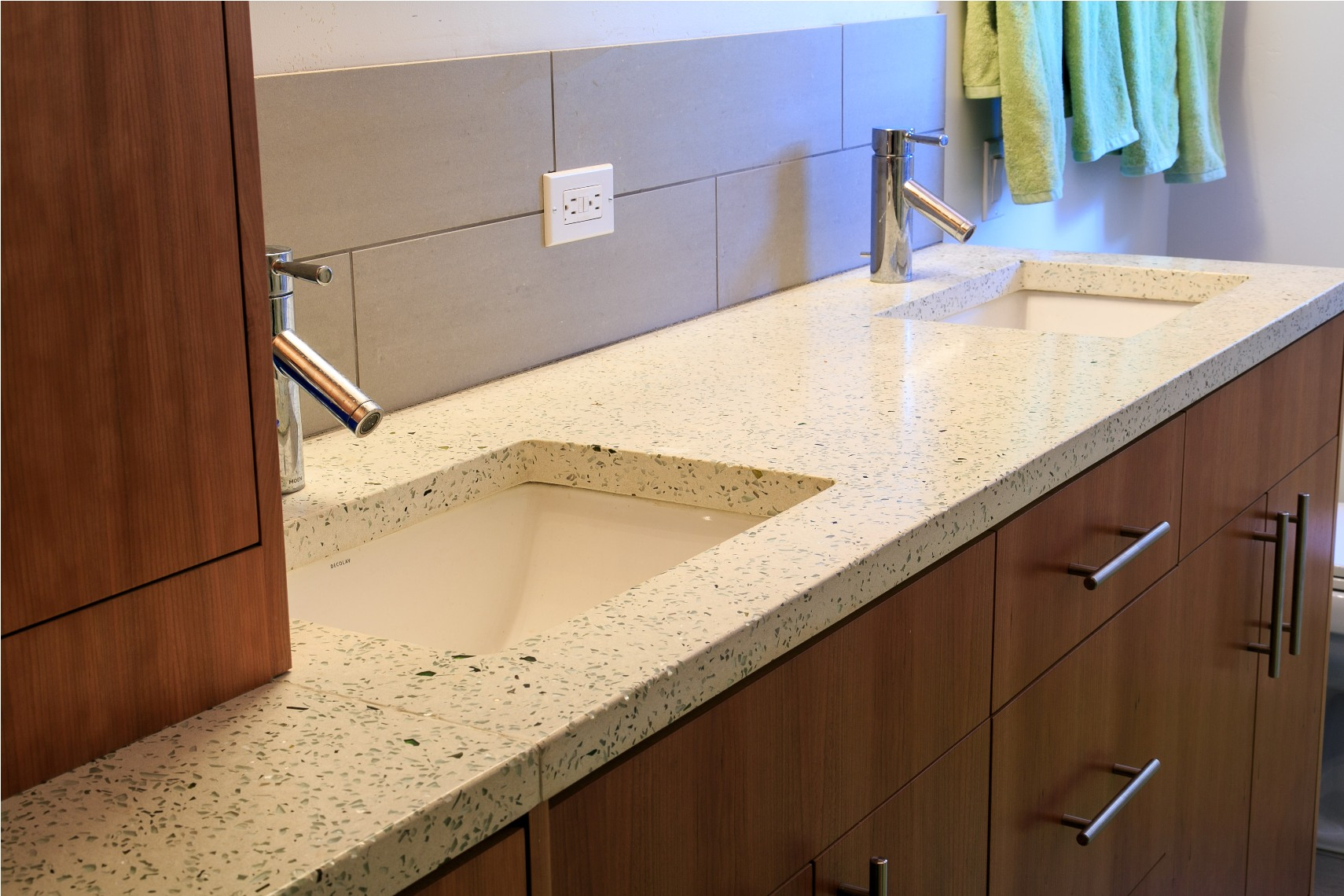 White Concrete with Clear Glass Bath Counter.jpg