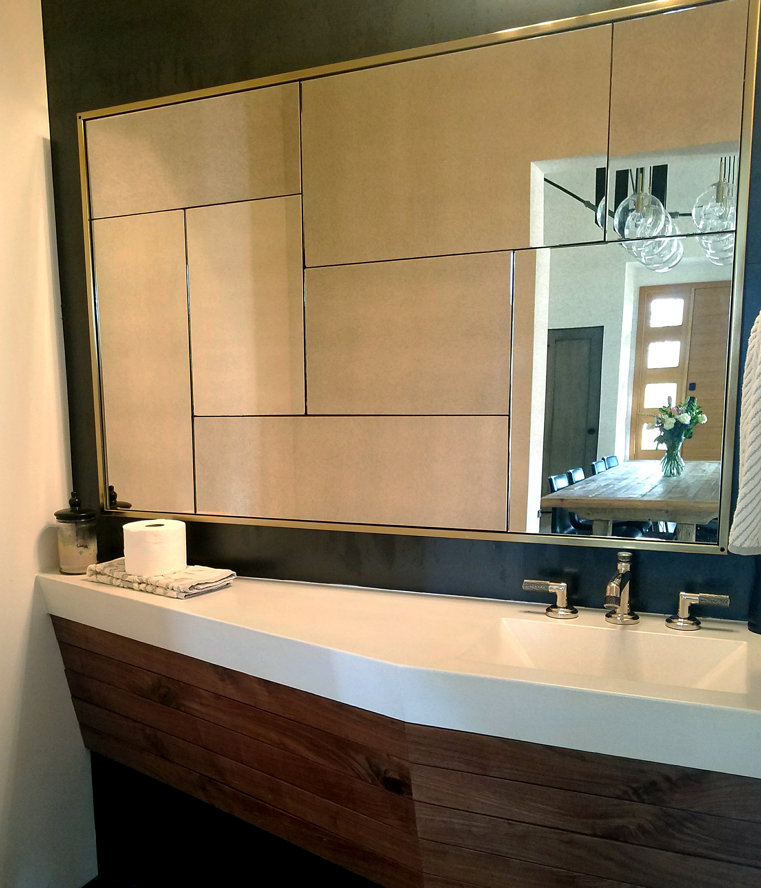 Floating Concrete Vanity Sink with Rustic Walnut Front.jpg