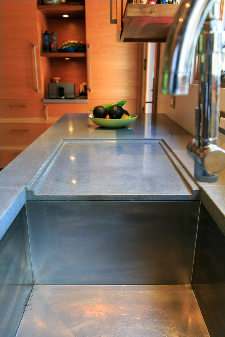 ECC Grey Concrete Integrated Drainboard with Stainless Steel Sink.jpg