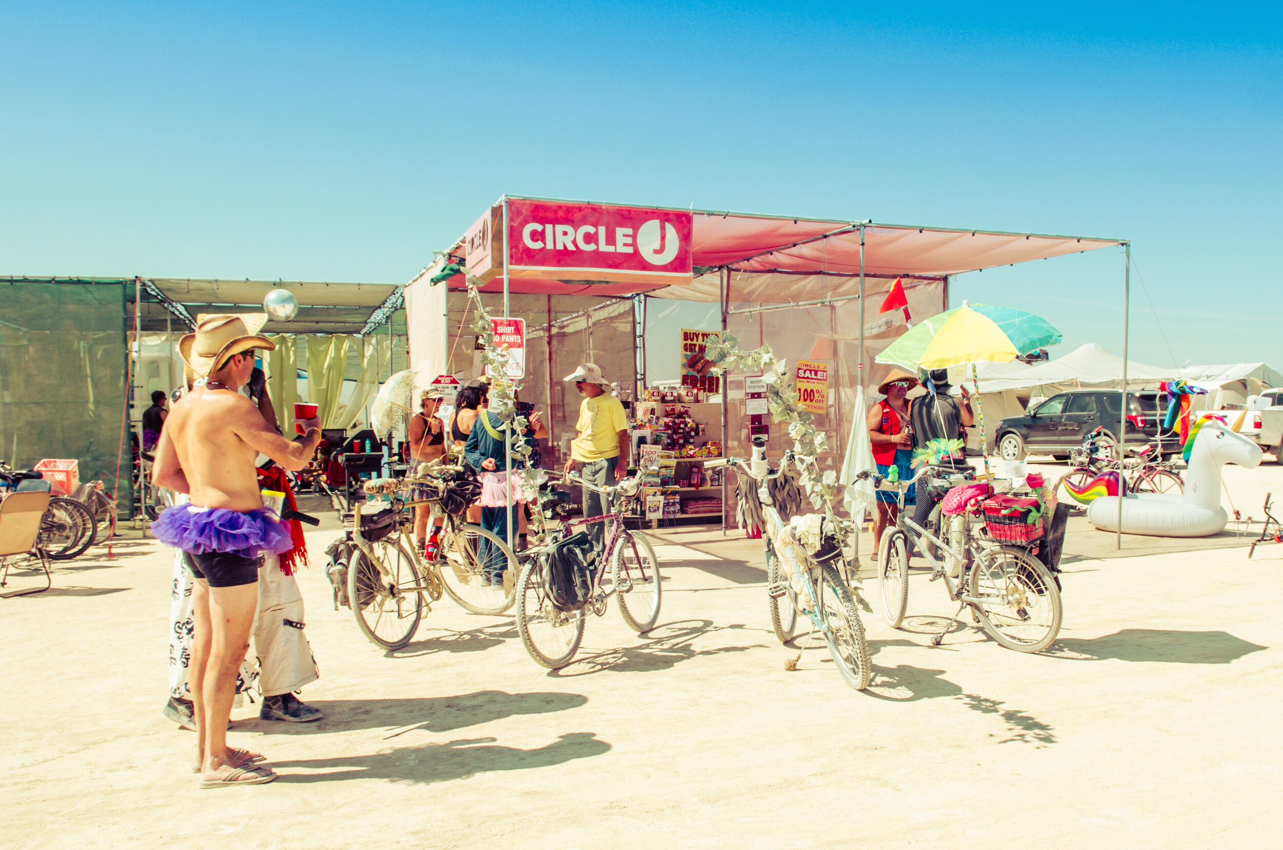 Your Neighborhood Burning Man Inconvenience Store -