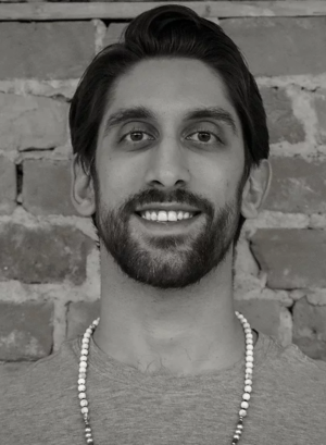 Jaffer Hussain - Hometown: Richmond HillStar Sign: LeoCan often be found:walking the city to class, drinking bulletproof coffee listening to an audiobook or sports podcasts.Favourite song of the moment: In my feelings by DrakeTeaching Style: Accessible. All levels. Vinyasa.Favourite Pose: Legs up the wall, Childs and Plank - a 3 way tieAddicted to:Sports! Leafs. Jays. Raps. Denver Broncos. Fantasy Football and Hockey.Social Media: @jafferyoga