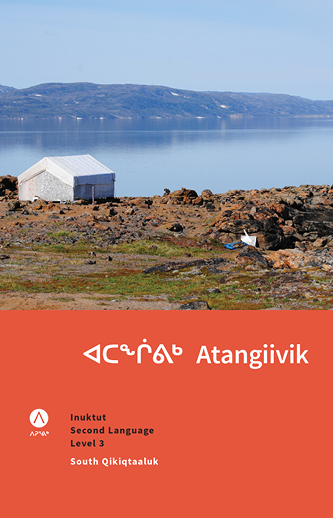 ᐊᑕᖐᕕᒃAtangiivik: Inuktut Second Language Level 3 - The third handbook in our Inuktut as a Second Language series gives you more challenging dialogues and vocabulary that will take you to an intermediate level of Inuktut learning.136 pagesDialects available: North Qikiqtaaluk; South Qikiqtaaluk; Aivilingmiutut; Inuinnaqtun.Price: $40