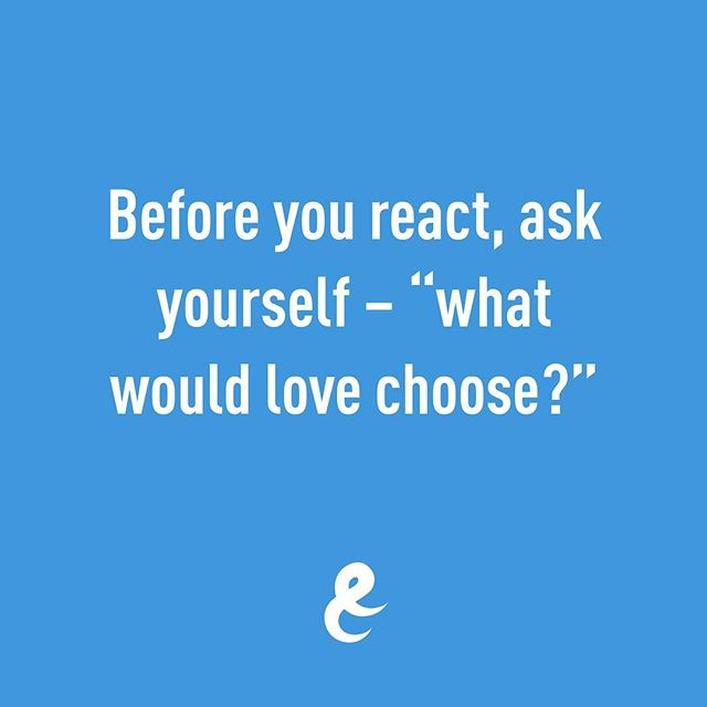 What would love choose? 🤔😊💕 Quite often, asking this question of yourself is enough to disrupt what would otherwise be a default (habitual) behaviour.  By posing this question you are allowing space for you to consciously choose your response. . . . #boldandresolute #consciousness #selfawareness #love #lovequotes  #peace #choice #relationshipquotes #relationshipgoals