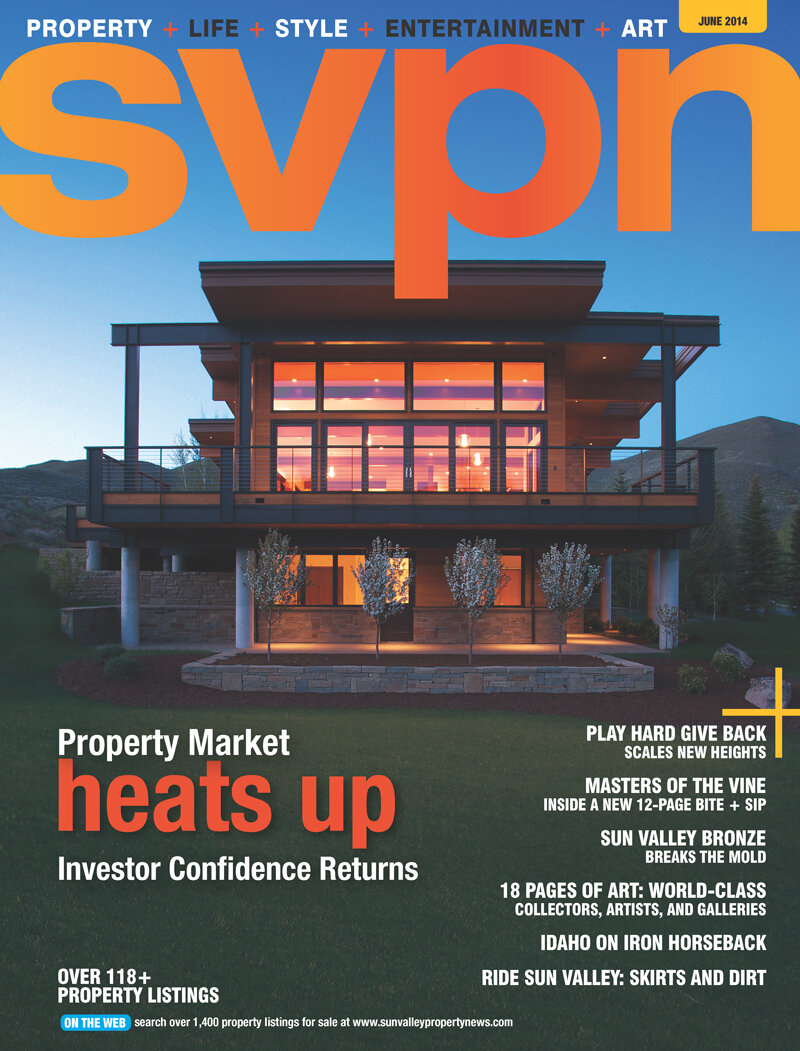 The home featured on the June 2014 cover of Sun Valley Property News was built with the help of our program.