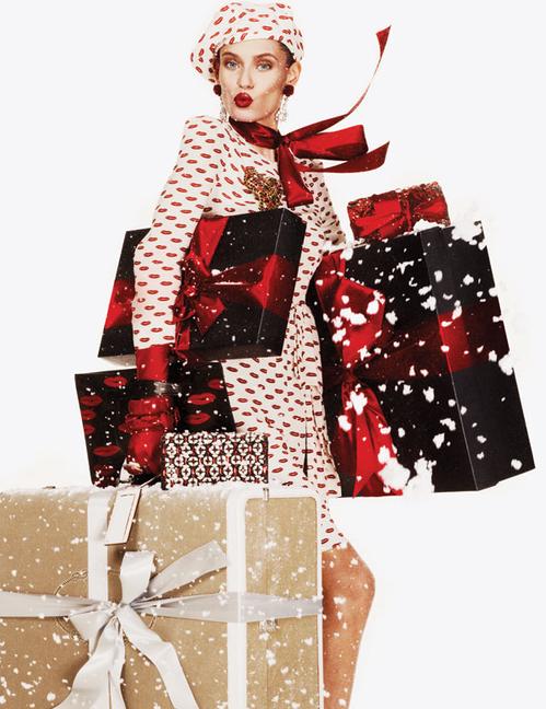 Bianca Balti by Giampaolo Sgura for     Vogue Paris    , December 2011