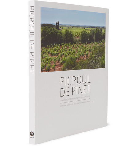 ABRAMS - Picpoul De Pinet: The White Mediterranean Vineyards Of The Languedoc Hardcover Book  - €29.25  Photo: www.mrporter.com