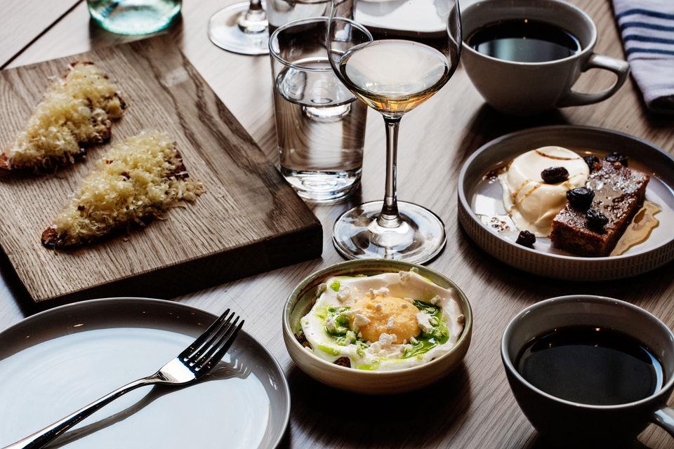 Enjoy delicious food at Sentralen Restaurant.