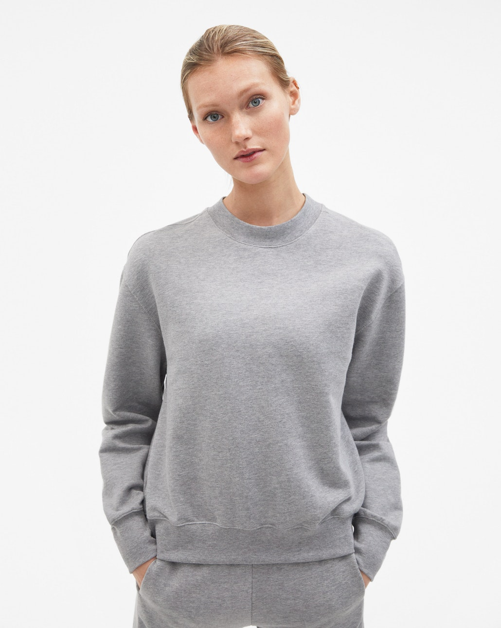 Classic soft cotton sweatshirt : before £ 110, now £ 77.
