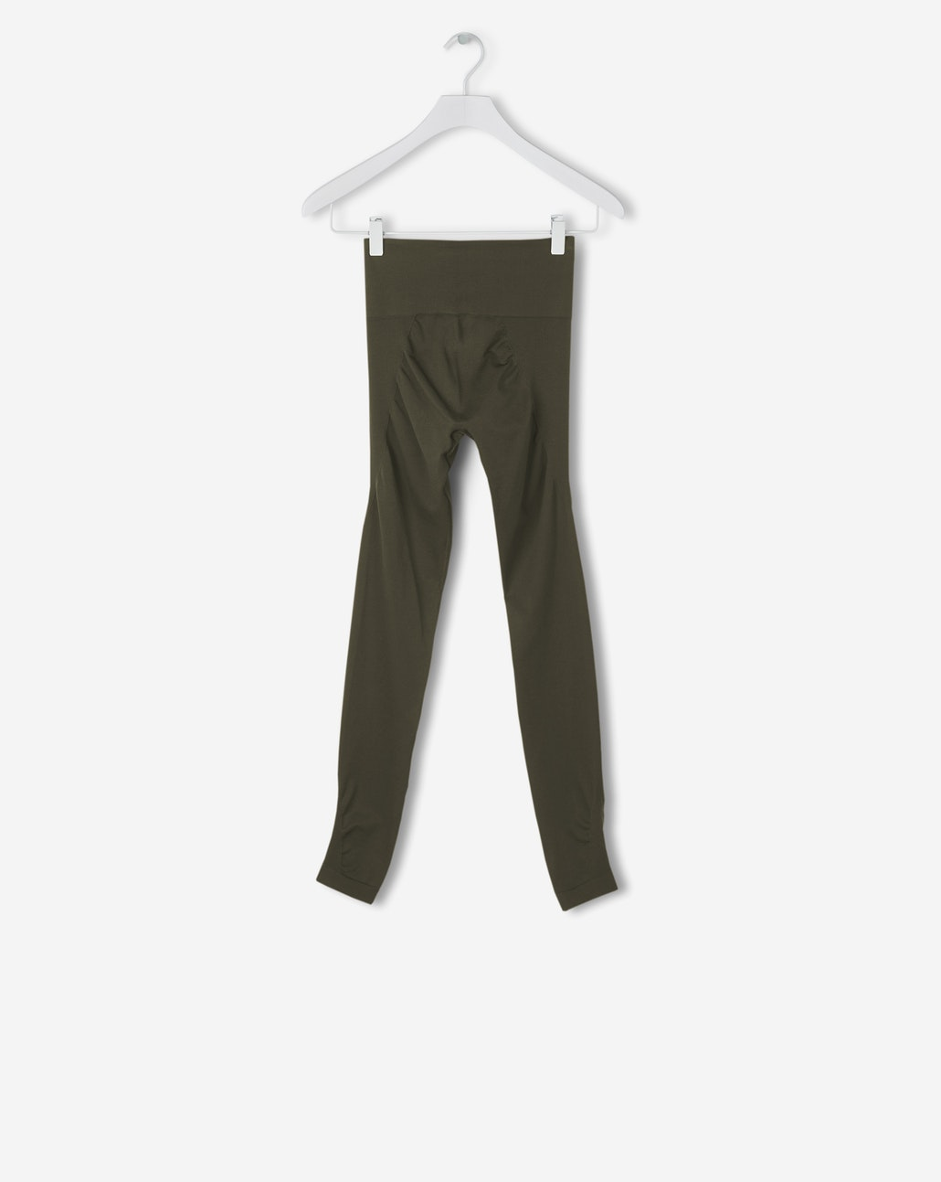 High seamless leggings in olive:  before £ 55, now £ 39.