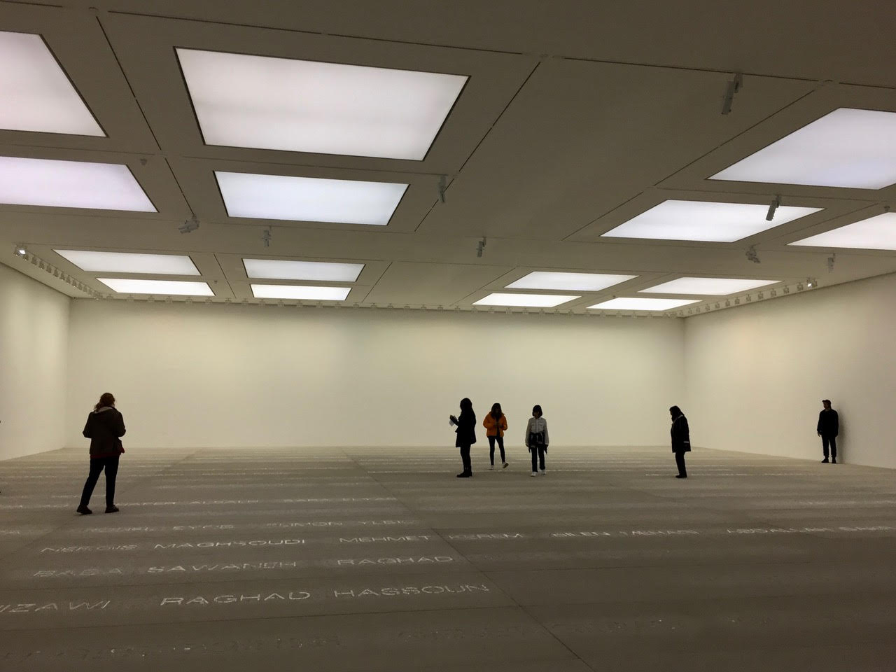 White Cube in London. Photo by Anna.