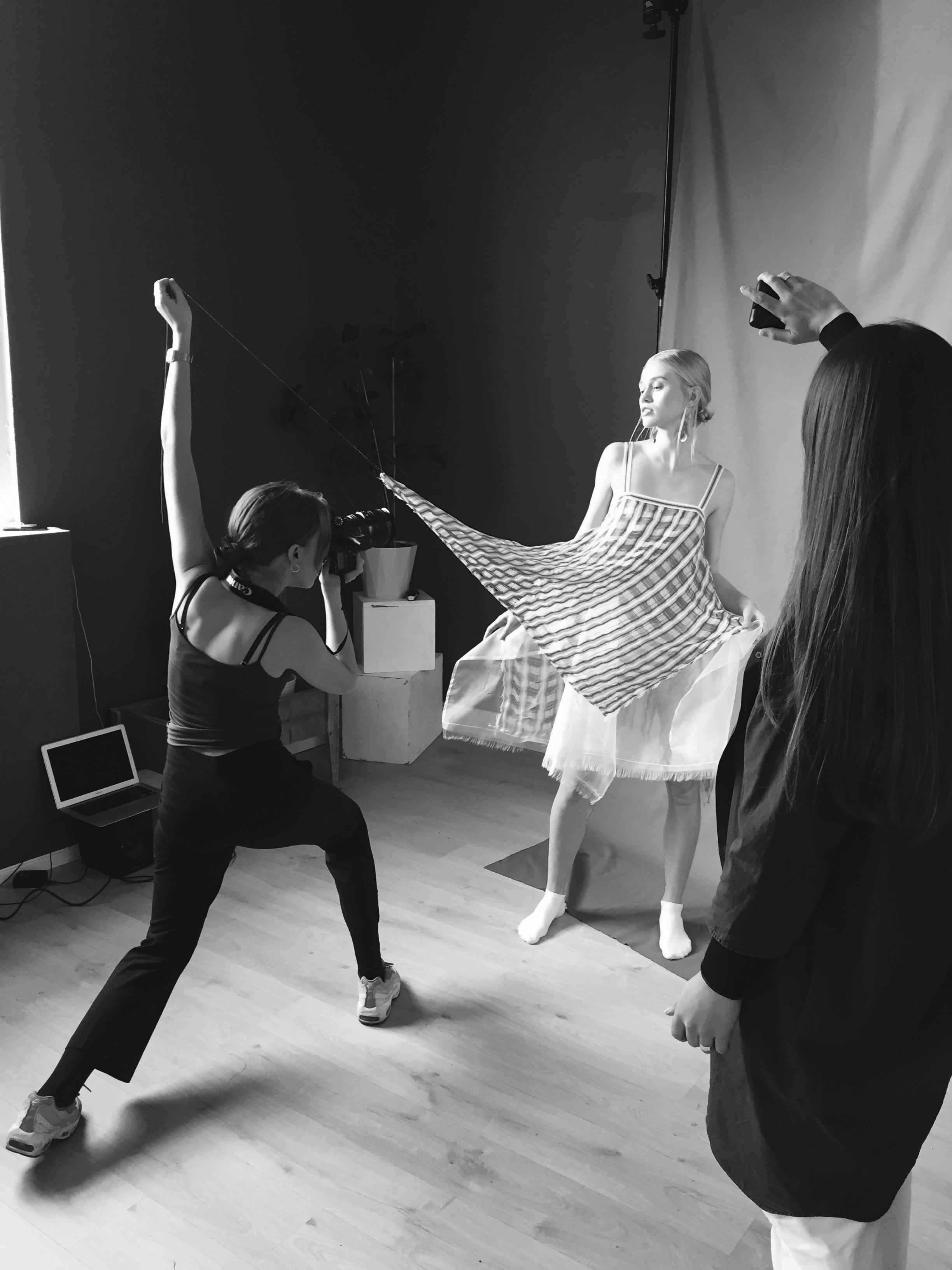 Photoshoot with the photographer Ida Fiskaa