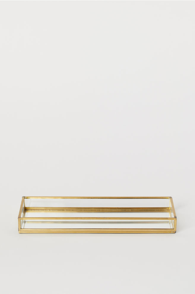 Candle tray,  $17.99 from H&M Home   Photo:  H&M Home