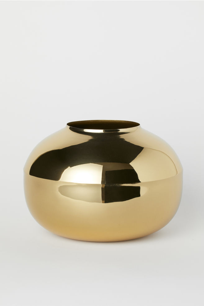 Metal Vase,  $24.99 from H&M Home   Photo:  H&M Home