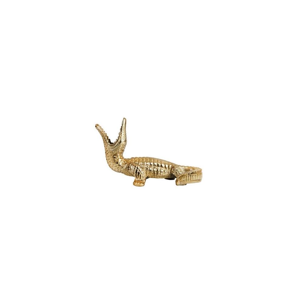 Golden Crocodile Candle Holder,  30,52 € from Hurn & Hurn   Photo:  Hurn & Hurn