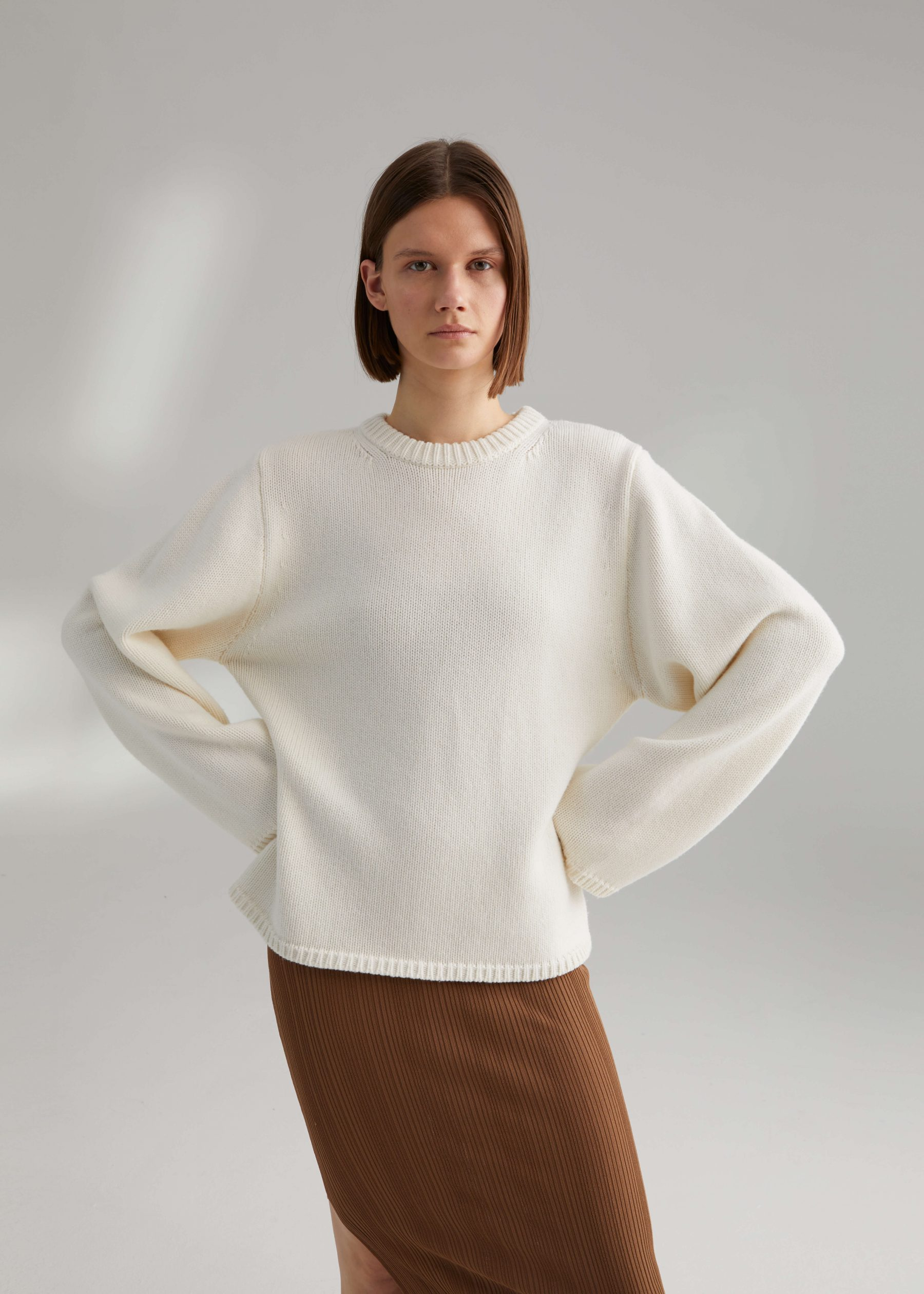 Montese knit creme from Toteme, buy it   here  . Photo: Toteme.