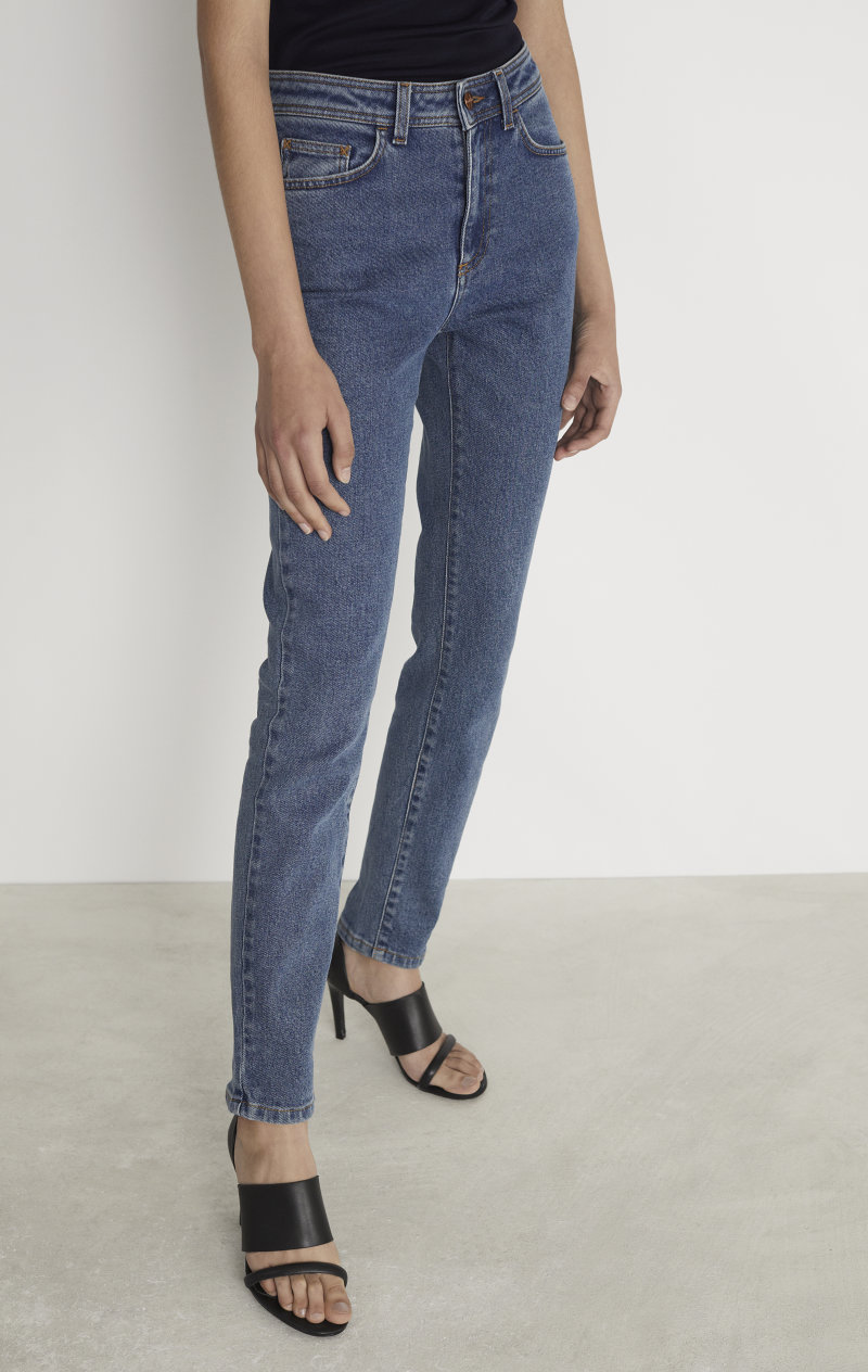 The perfect pair of jeans. We can't get enough of these. Find them at  Rodebjer .  Photo by Rodebjer.
