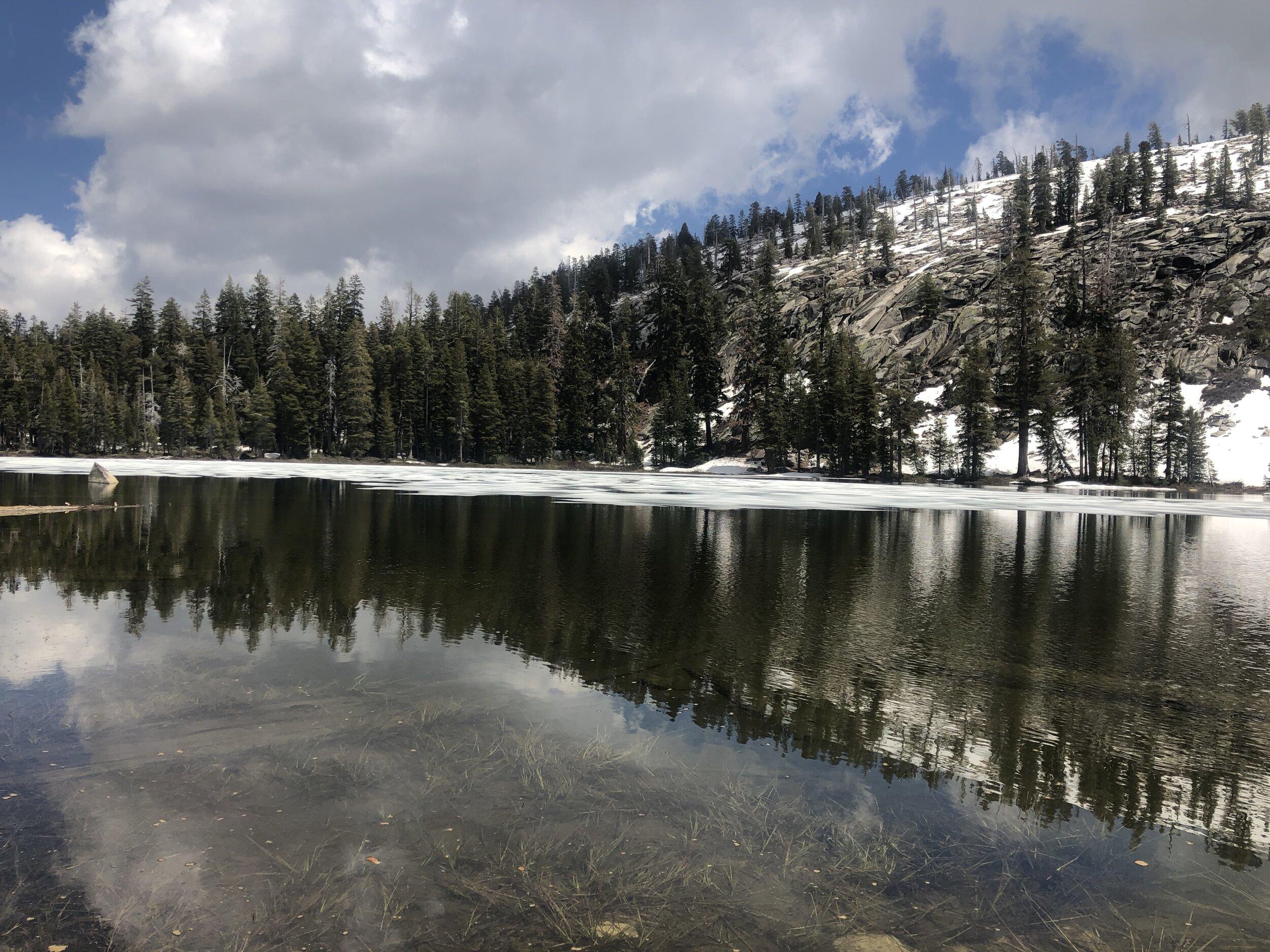 THIS LAKE+YOU=HEAVEN