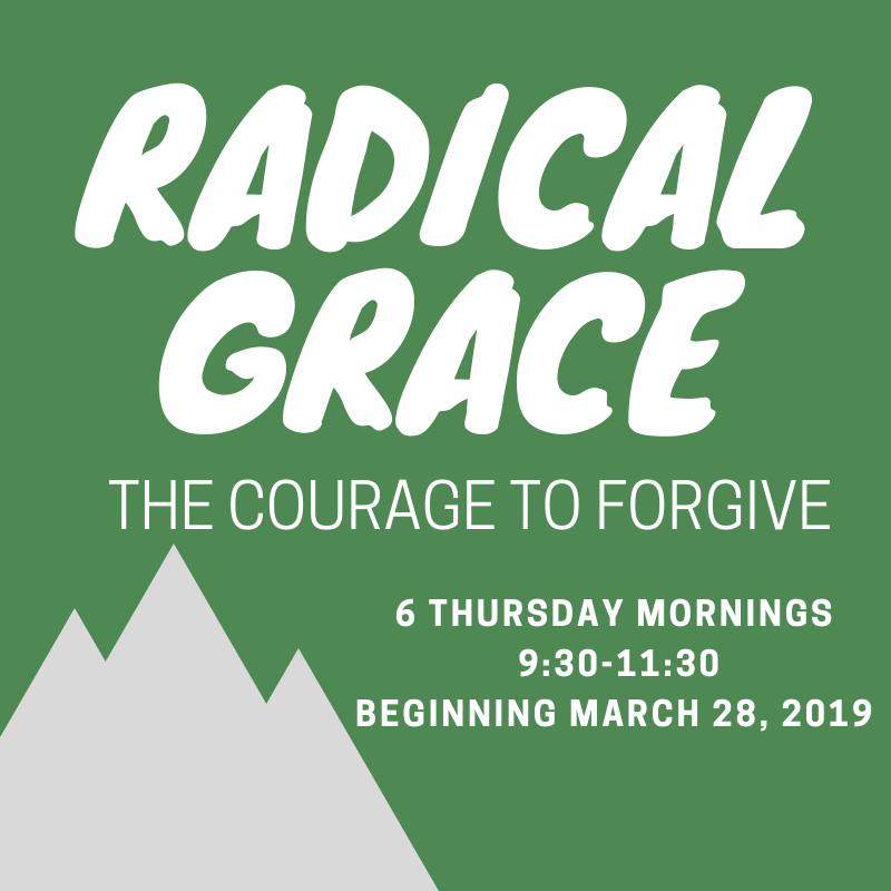 MARCH 28 - MAY 2 - Join amazing women (last time we had 90 every week practicing being still and knowing!) in this six-week class focused on releasing resentment, forgiving yourself, and finding compassion for those who hurt you. This will be a Bible study and introspective journey into forgiving ourselves and showing grace to others. Registration coming soon!