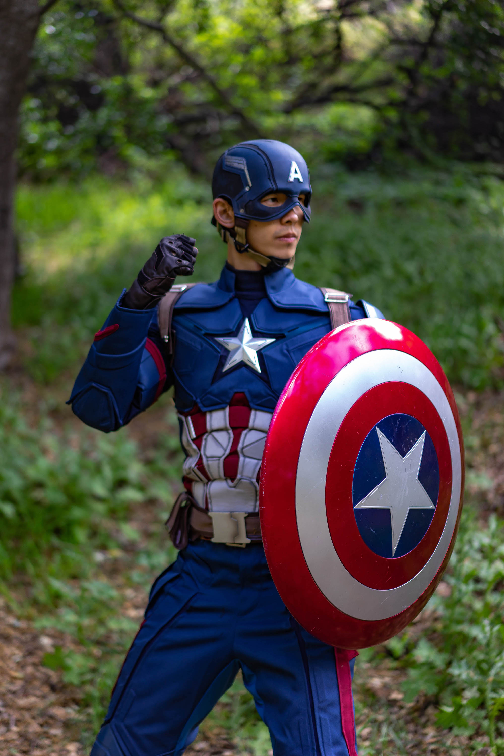 Me as Captain America - Shot by Anthony Chavez ( @thephotochamp )