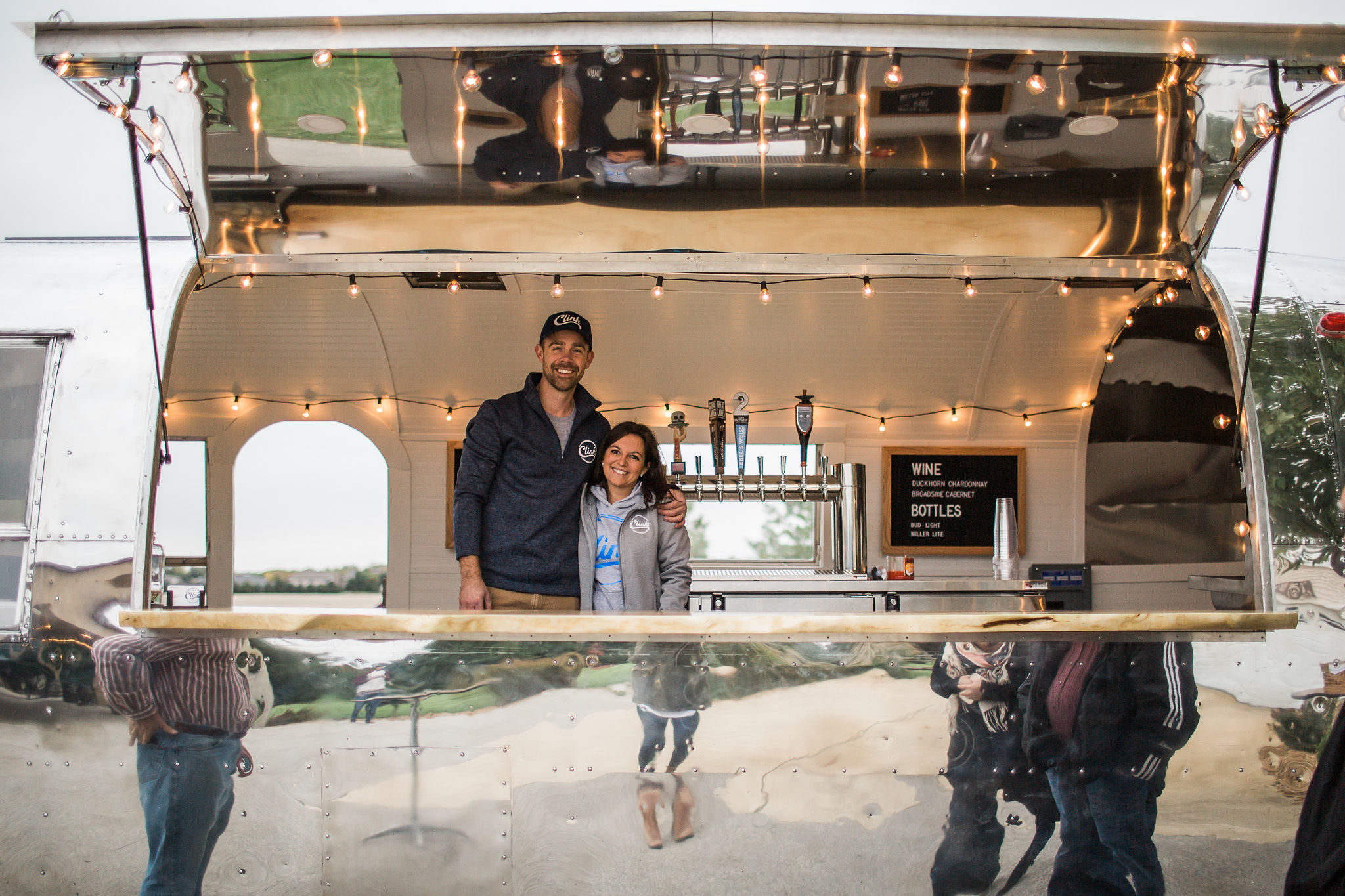 About - Find out about our story and how we put a bar into an Airstream