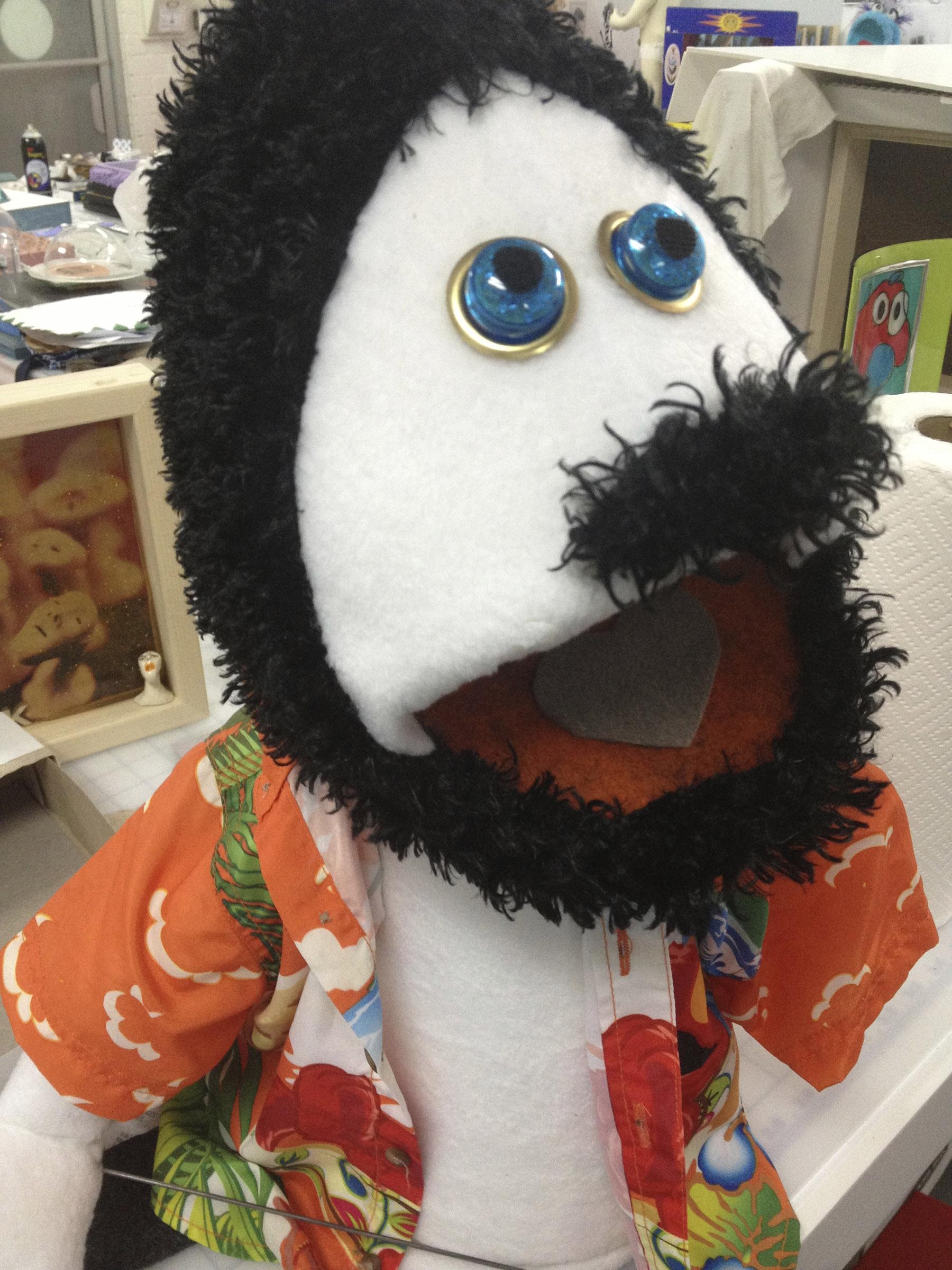 Ron Jeremy puppet
