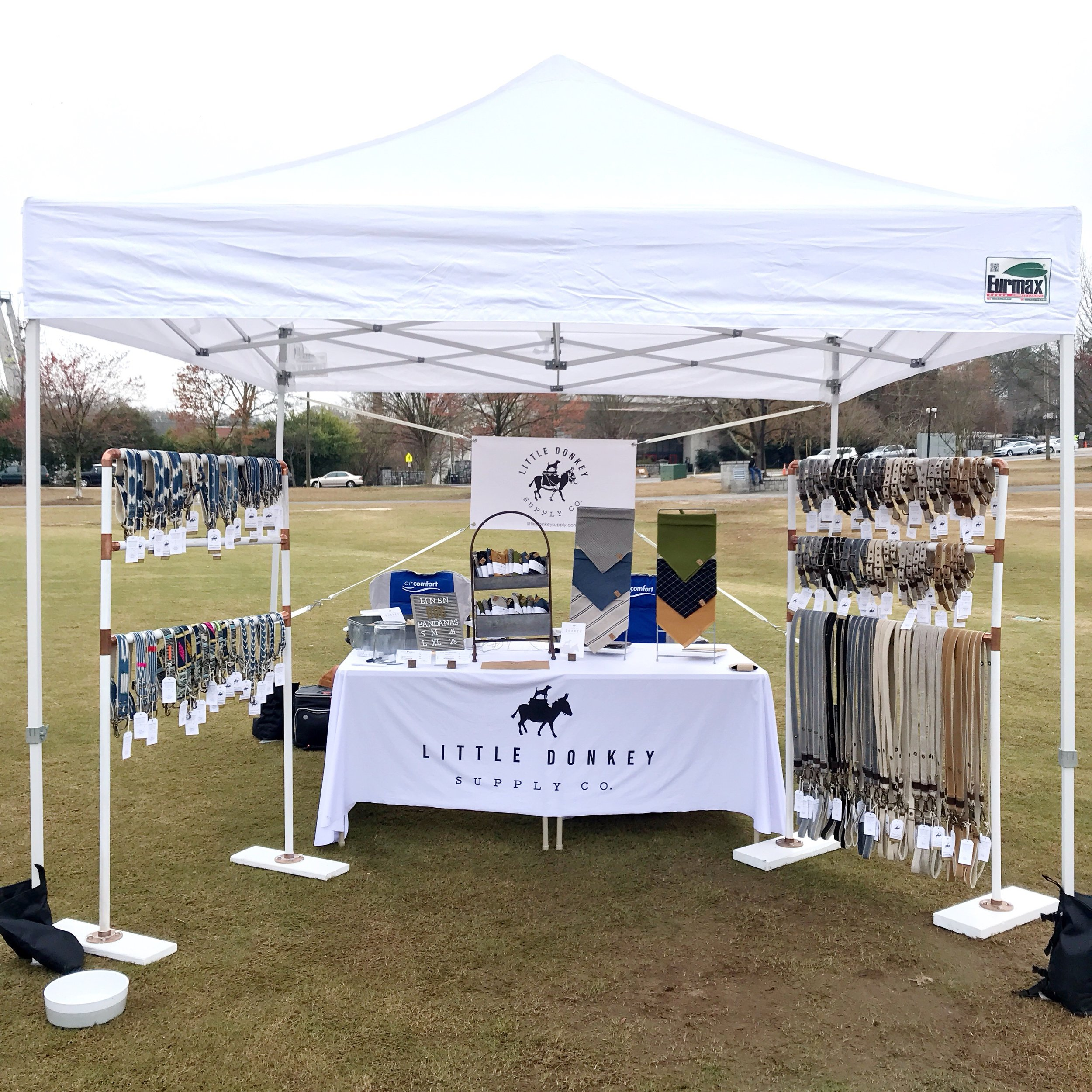 Little Donkey Supply Booth Rescue Dog Games 2019