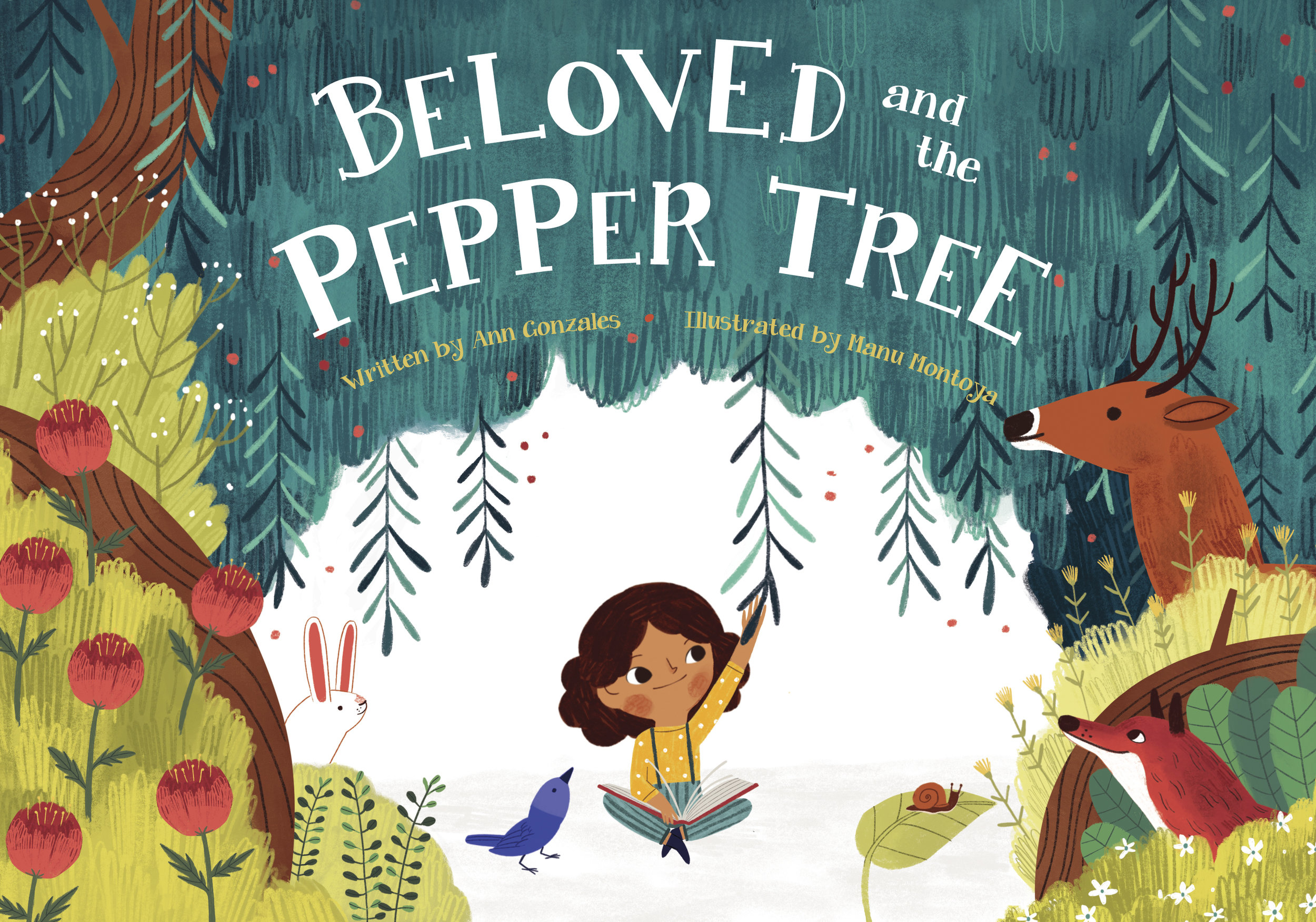 Beloved and the pepper tree - The new children's book by Ann Gonzales is now available for pre-order.