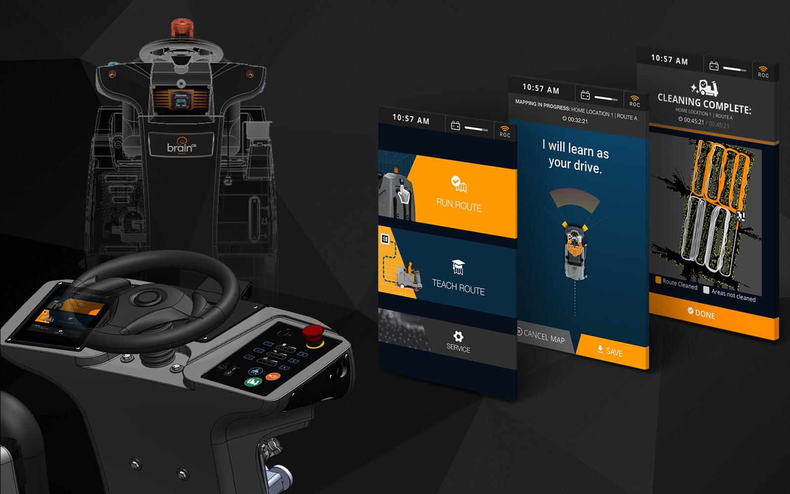 BRAIN CORP | ROBOTICS HARDWARE/SOFTWARE UI