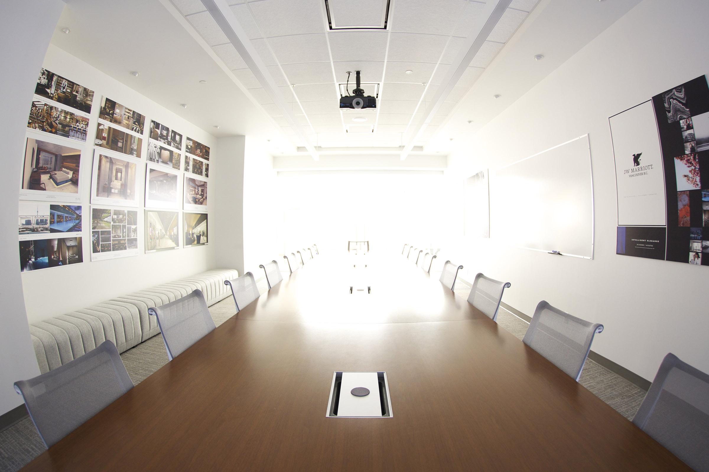 Bright, Modern Boardroom