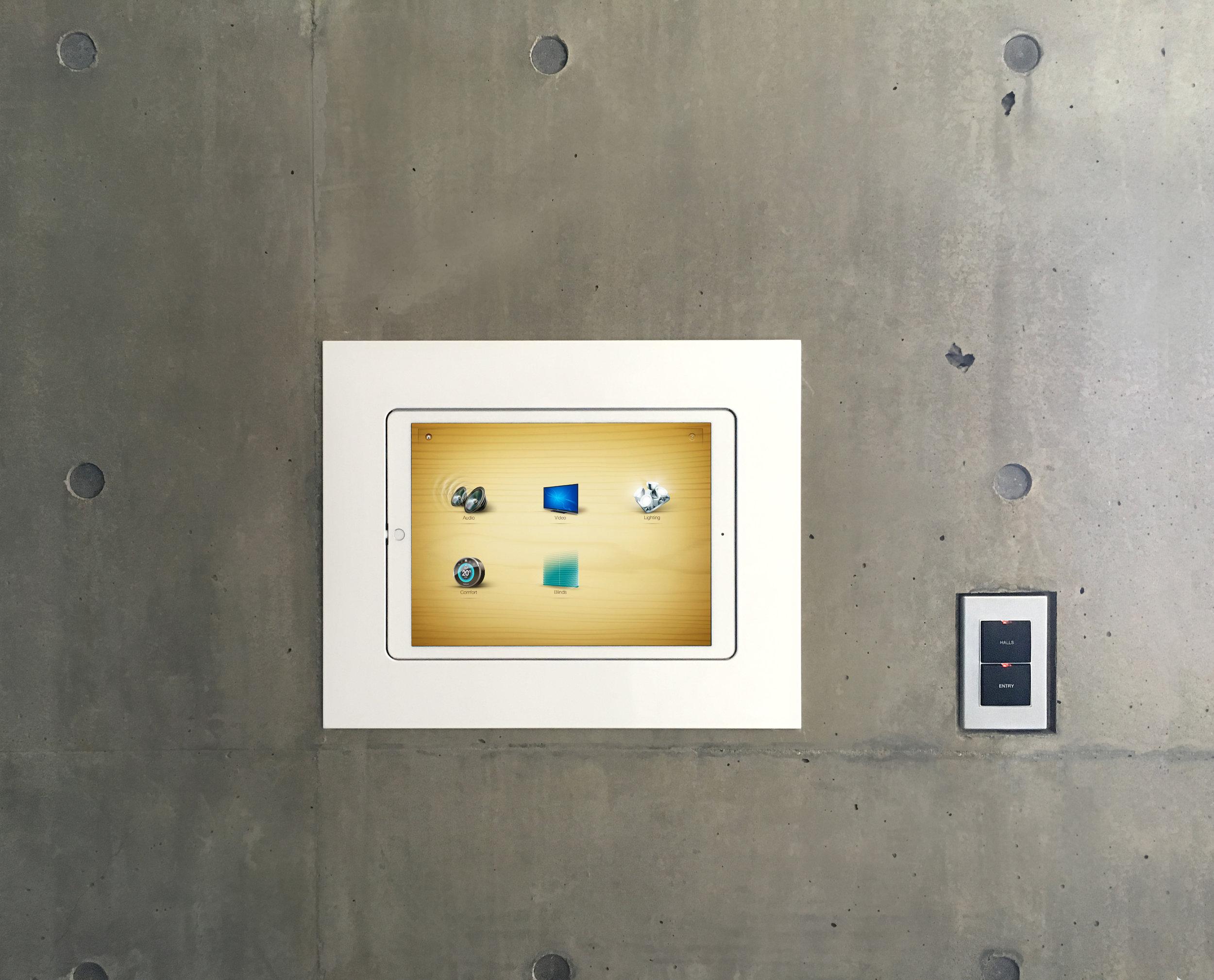 Custom iPad Pro Wall Mount
