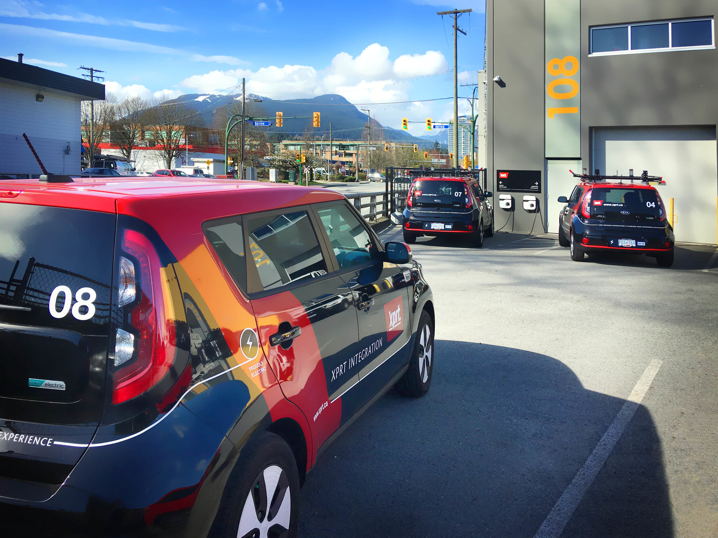 In 2016 Xprt began building a fleet of Kia Soul electric vehicles, because we identified an opportunity to invest in reduced fuel usage, and a lower cost of ownership over the life of the vehicles we chose to put on BC's roads.