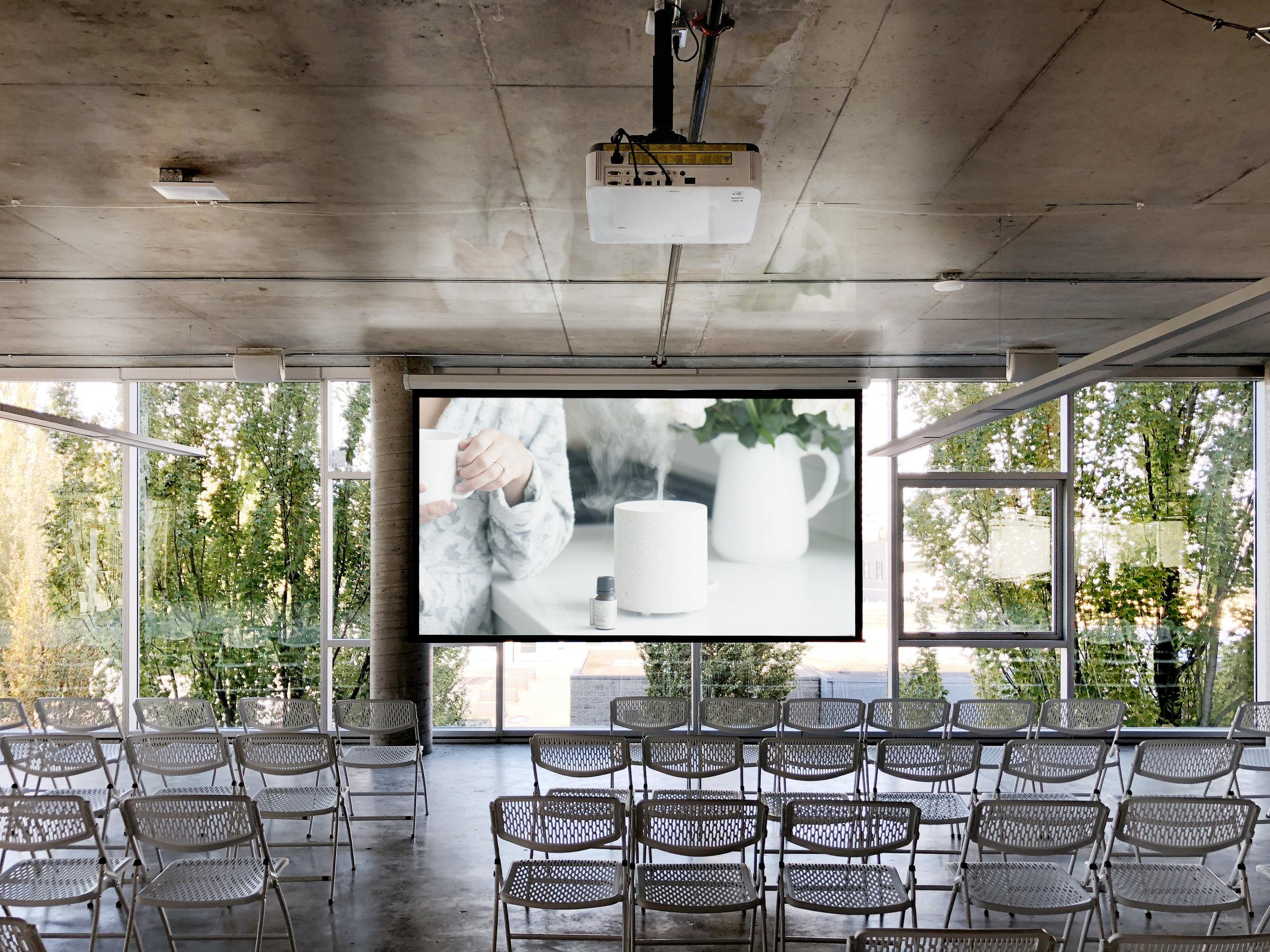 Temporary Presentation Space