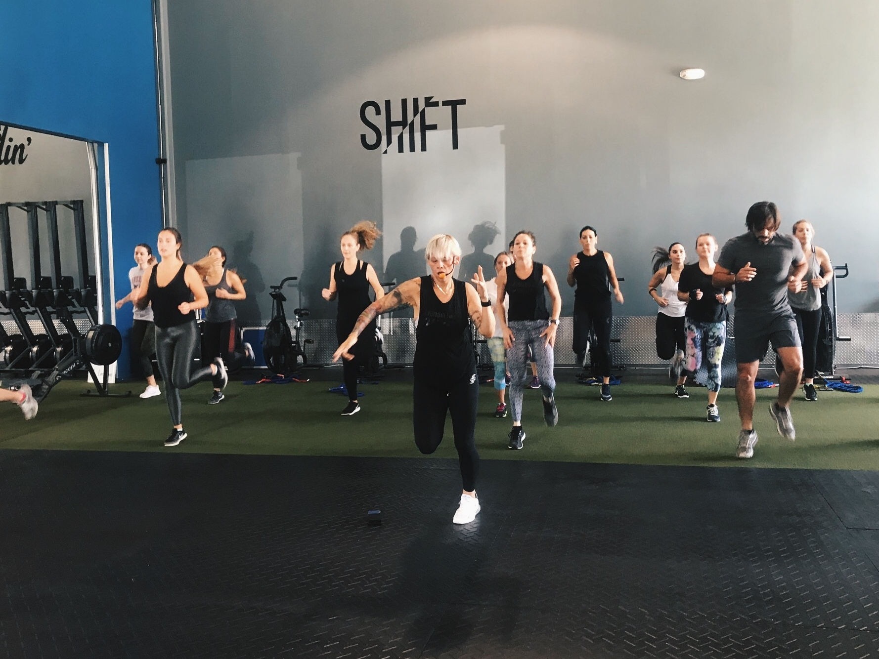 Supercharge - Supercharge is a hybrid class of The Tune Up and The Burnout. This class is all about increasing the power and speed of your engine. Get ready to kick your body into turbo speed in this high intensity blend of Bootcamp, Kickboxing.