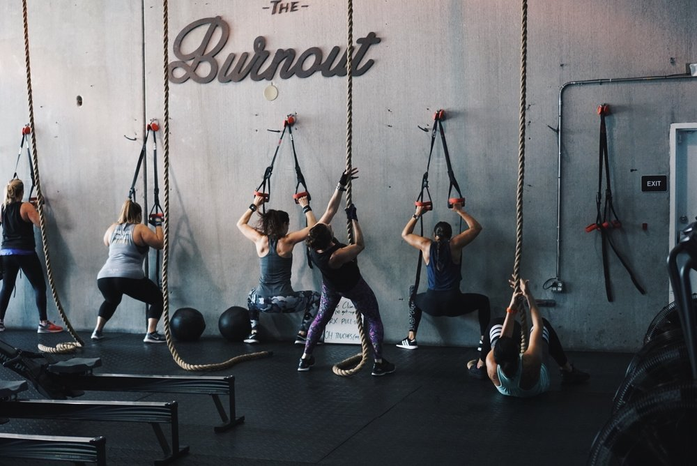 Tune Up - This high-intensity, functional strength training class targets either upper, lower or full body depending on what day it is. This class focuses highly on blending strength and conditioning together using a variety of training equipment.
