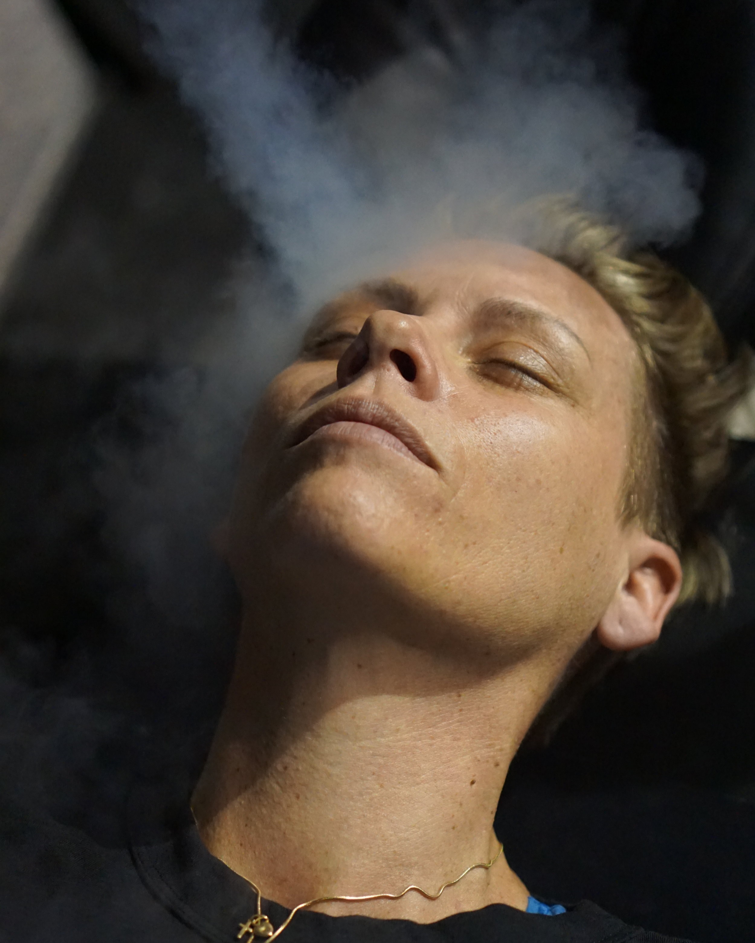 Cryotherapy Facial (Frotox) - Our CryoTHERAPY Facials are a non-invasive and pain free treatment method. Liquid nitrogen vapors are gently blown onto your face and neck area. This will stimulate the production of collagen and decrease pore size. Other benefits over time may include tightening skin, improving skin tone, brightening dark spots, decreasing wrinkles and lines as well as helpING treat acne.