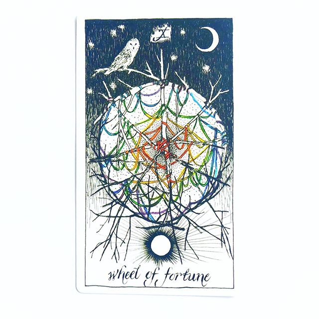 """My cosmic companion ✨ ⦁ Each curve, each spin Each winding spiral ⦁ Offers signs towards Our growth and purpose ⦁ ✨ sacredcirclecommunity.com 🎧 @sacredcirclepodcast ⦁ ⦁ ⦁ Sunday, June 23, 2019 Tarot Card of the Day – Wheel of Fortune, invitation to co-create with the divine in the present moment Astrology of the Day – Venus in Gemini oppose Jupiter in Sagittarius, invitation to allow what draws us in to guide how we grow and expand ⦁ ✨ LIMITED TIME OFFER The Sun was in Cancer when I was born, so I am offering a 20% discount on Tarot, Energy Work, and Astrology Birth Chart Consultations if you purchase and schedule a session between June 21 and July 21! ⦁ Click on """"Redeem Coupon"""" and use the code """"CRABBY"""" when you schedule at www.sacredcirclecommunity.com/consultations"""