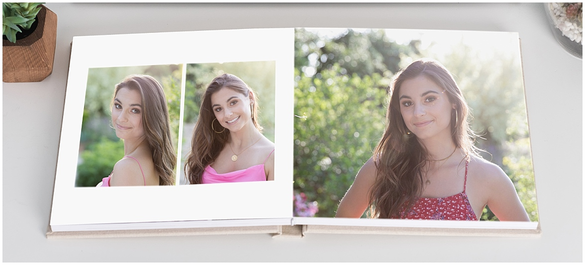 Gorgeous luxe album of Brooke's favorite portraits.