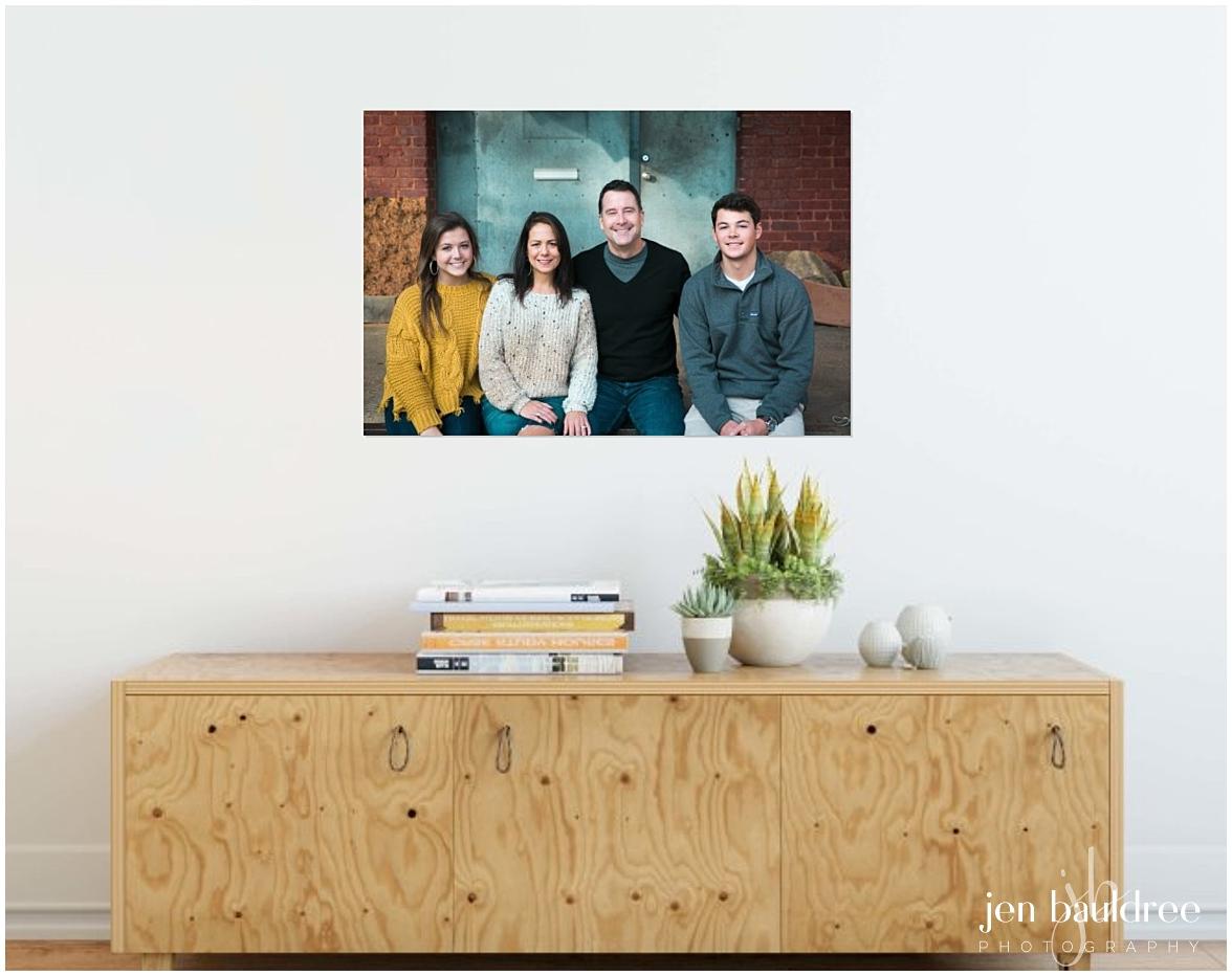 family portrait on wall in foyer.jpg