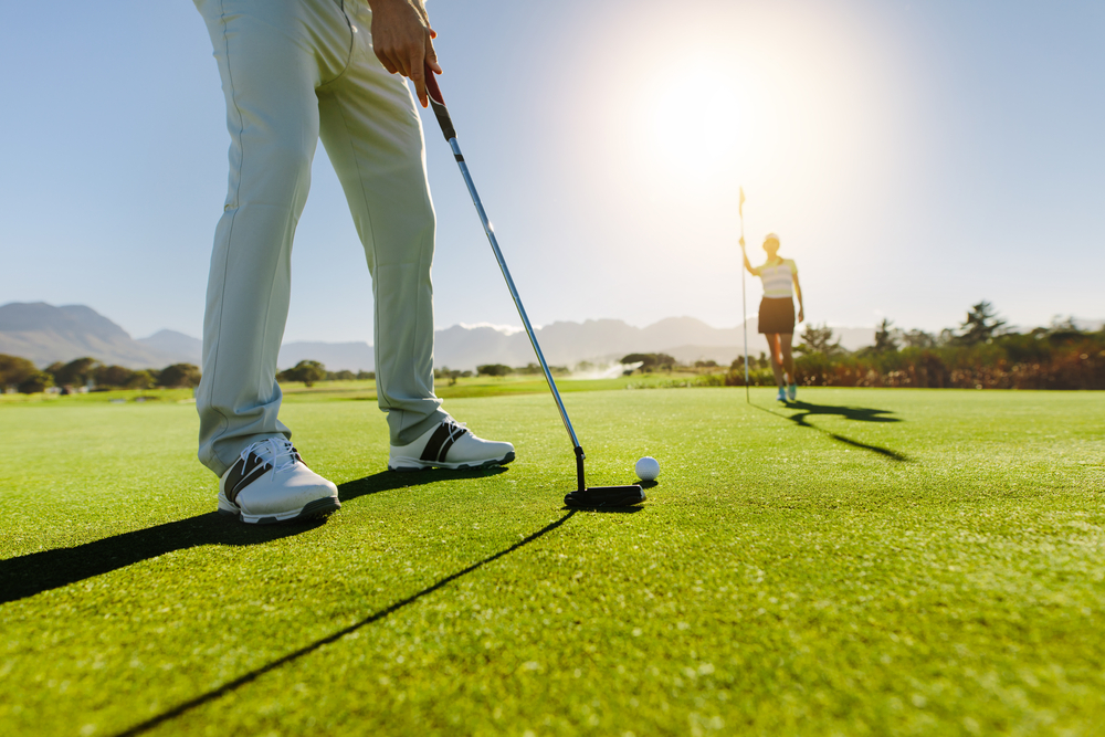 As many as 40 golfers will hit the links to support Timothy Christian School on Oct. 5.  Jacob Lund/Shutterstock