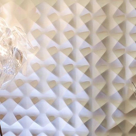 Create a 3D effect on your wall with the Aura panel