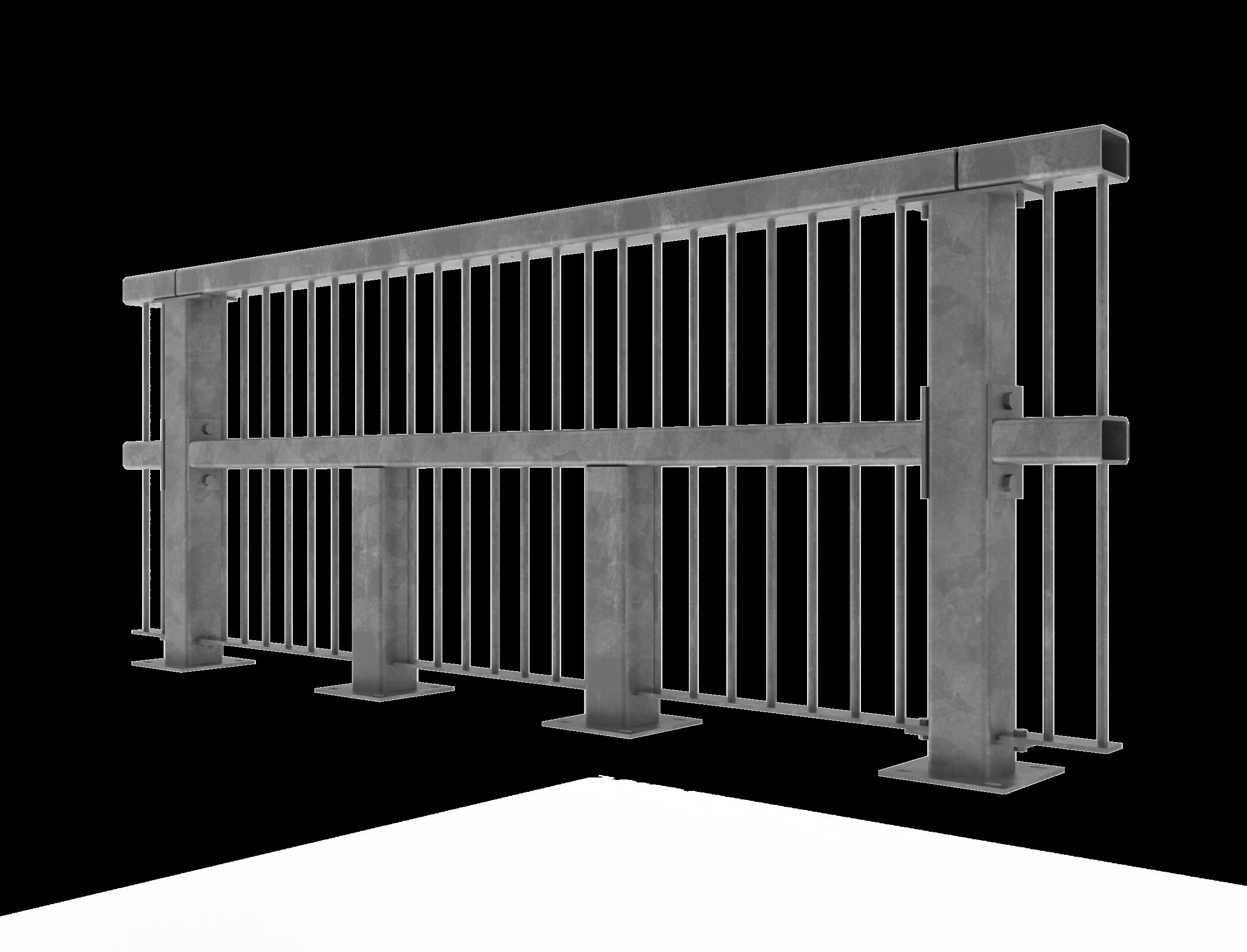 Motorway and bridge rails