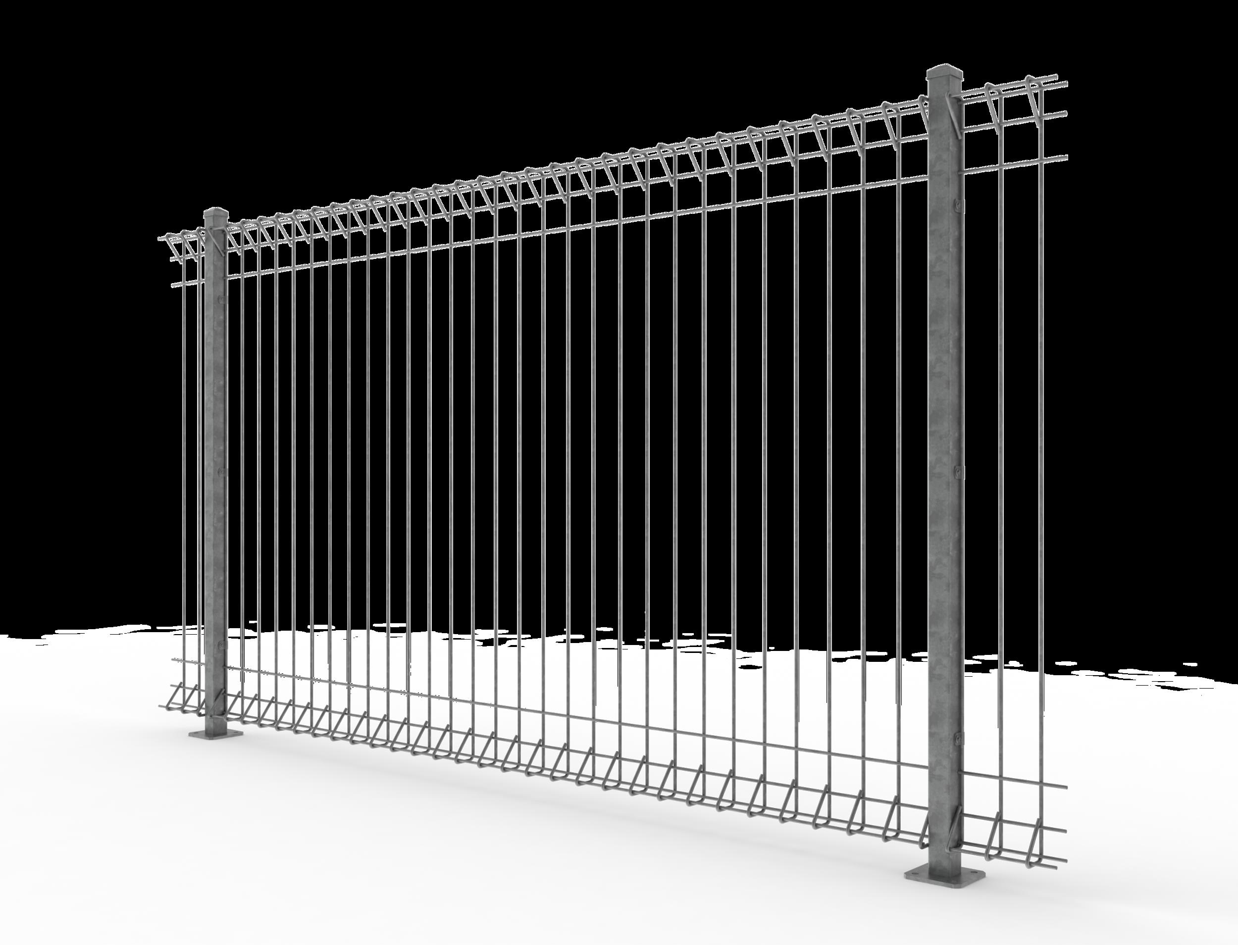 Motorway fencing