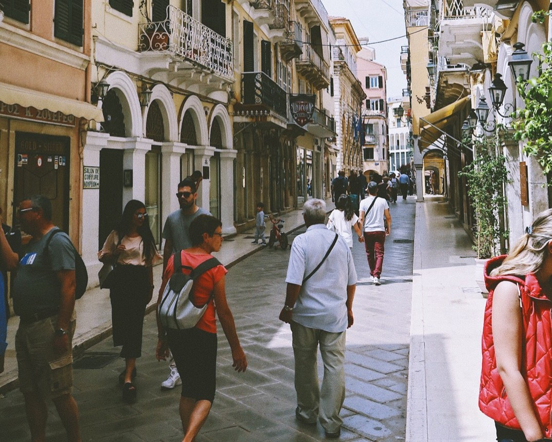 Old Town Corfu, Greece. Check more out on my Instagram   @ayetrey_