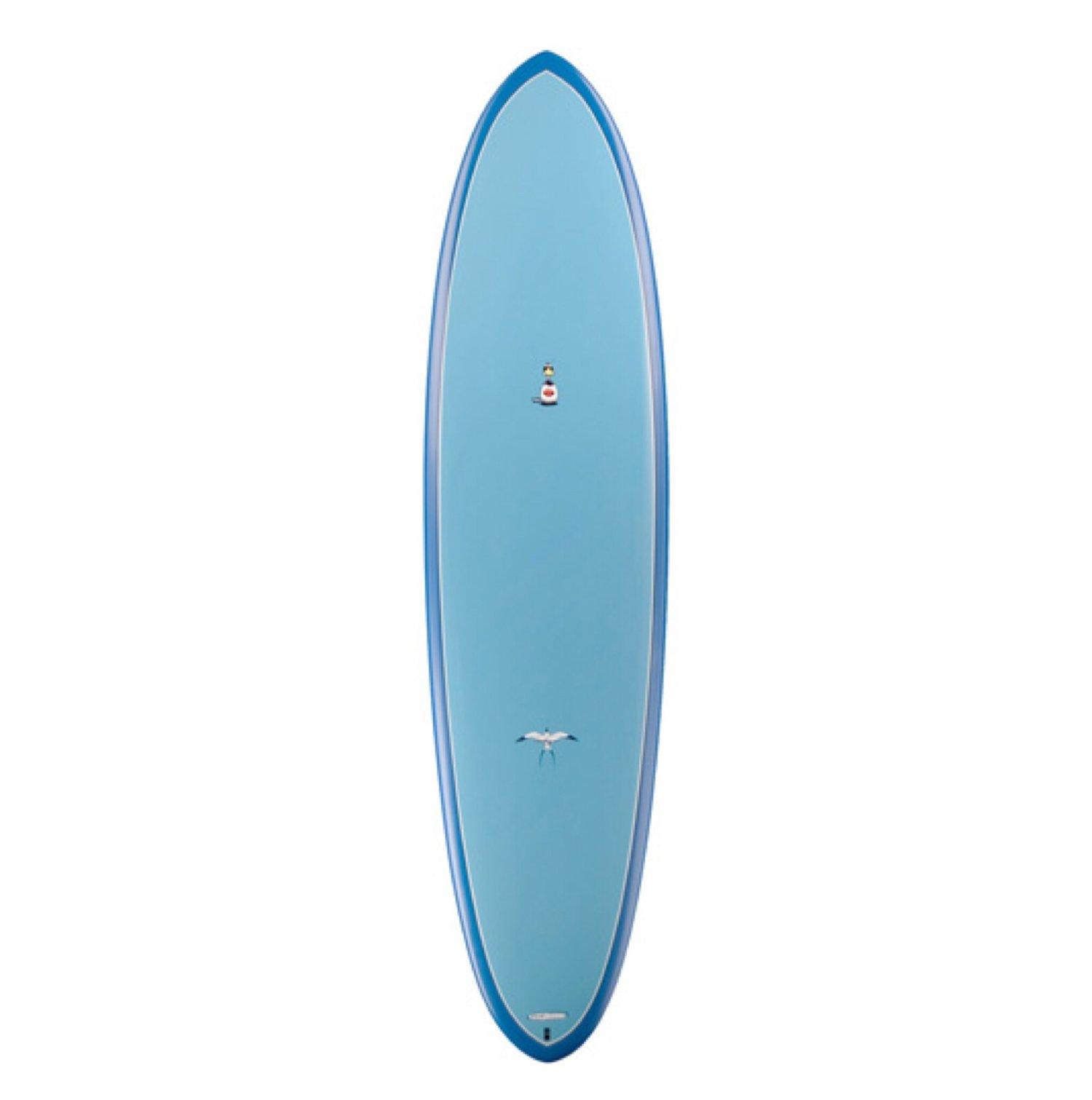 """TORQ - Mod Fish Soft Deck (Soft-top)   6'10 x 22"""" x 2 7/8"""" 50L"""
