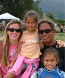 The Kinimaka Family