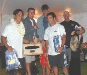 Aaron Fowler, Eddie Acierto, Ian Vernon, Mark Michetti & Dennis Williams