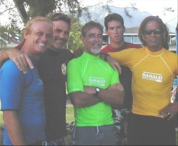 Tris Imboden, Jim Carney, Mike Smith, Chad Listman & Titus Kinimaka.