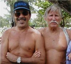 """Vic """"The Barber"""" De Anda & Bob Scottland"""